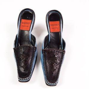 Goffredo Fantini Shoes - Goffredo Fantini Made In Italy Kitten Heel Mules